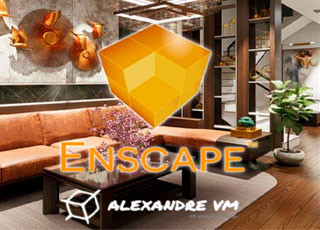 Curso de Enscape PRO para maquetes digitais 3D