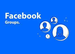 Grupos no Facebook