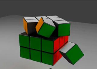 Como é o funcionamento de um cubo mágico?