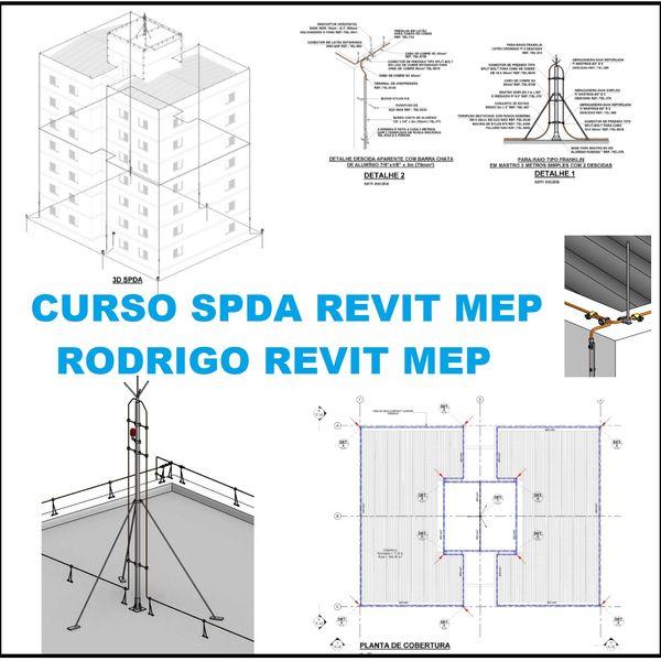 Curso Projeto de SPDA no Revit MEP com Template