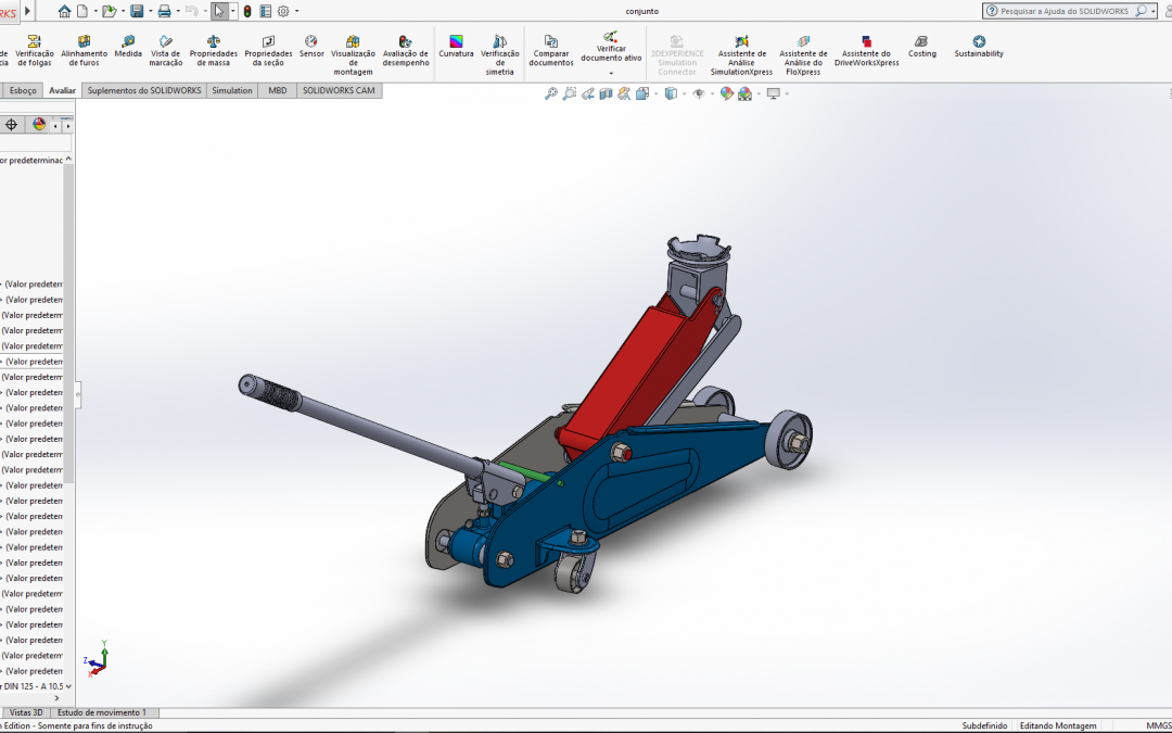 Curso on-line de Solidworks 2020